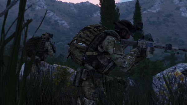 The Linux beta of Arma 3 has been updated to 1 80, compatible with