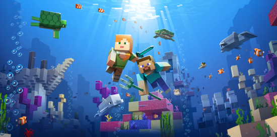 Minecraft 'Update Aquatic' is a huge update which brings the
