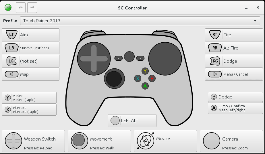 SC Controller, the open source driver and GUI for the Steam