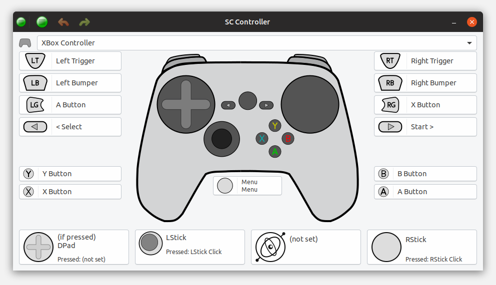 SC Controller, the driver and UI for the Steam Controller is
