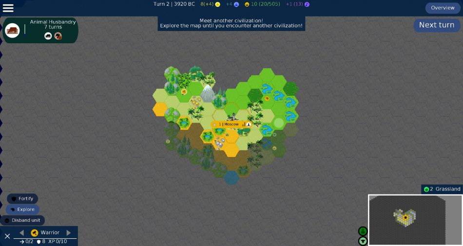 Unciv A Free And Open Source Remake Of Civilization V Gamingonlinux