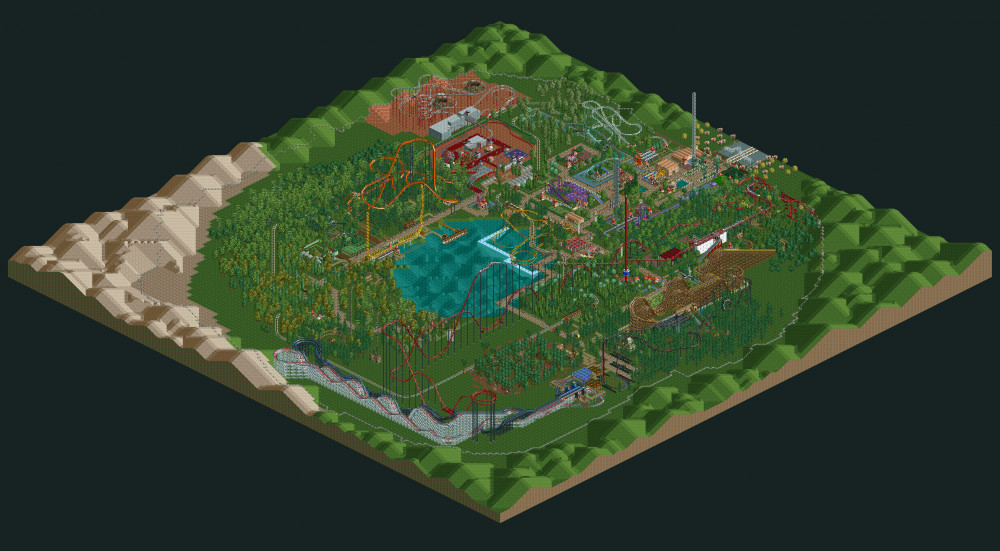 OpenRCT2, an open source game engine for RollerCoaster