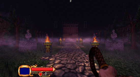 GZDOOM based fan game 'Castlevania: Simon's Destiny' has a