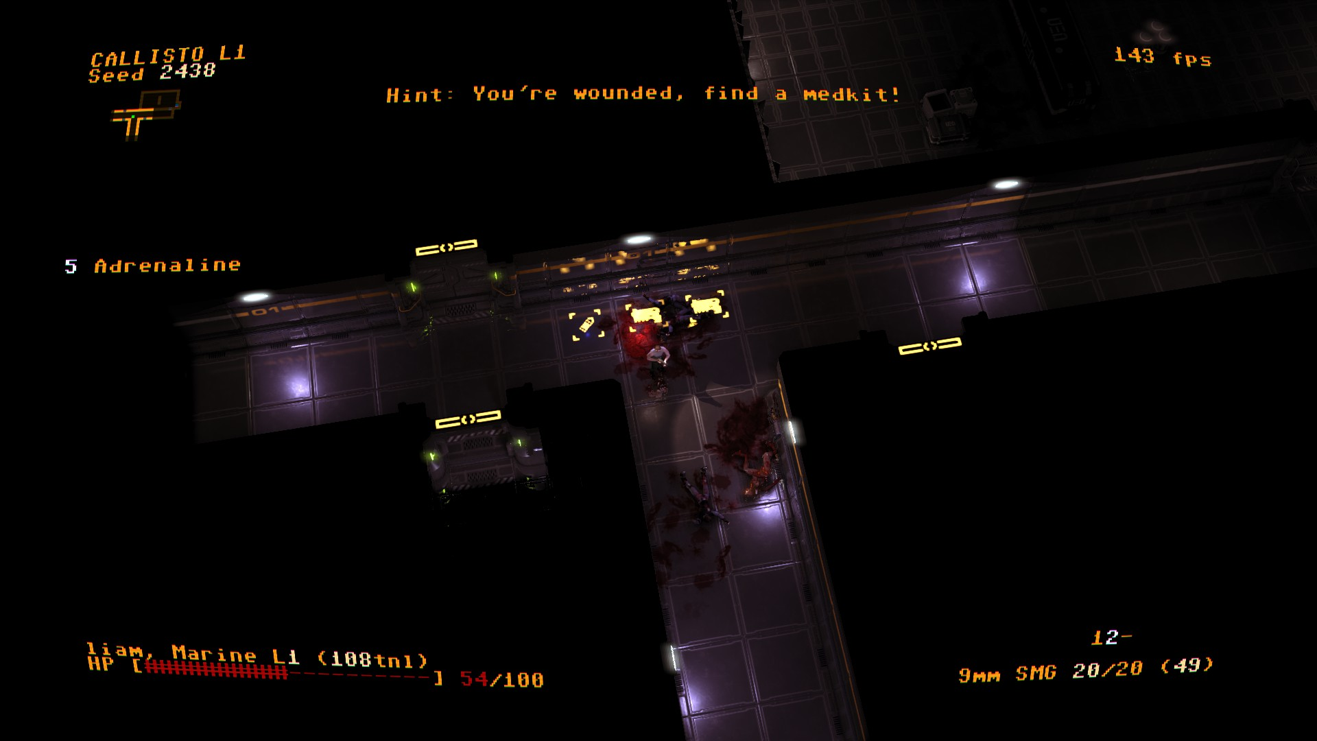 The incredibly fierce roguelike Jupiter Hell has now entered