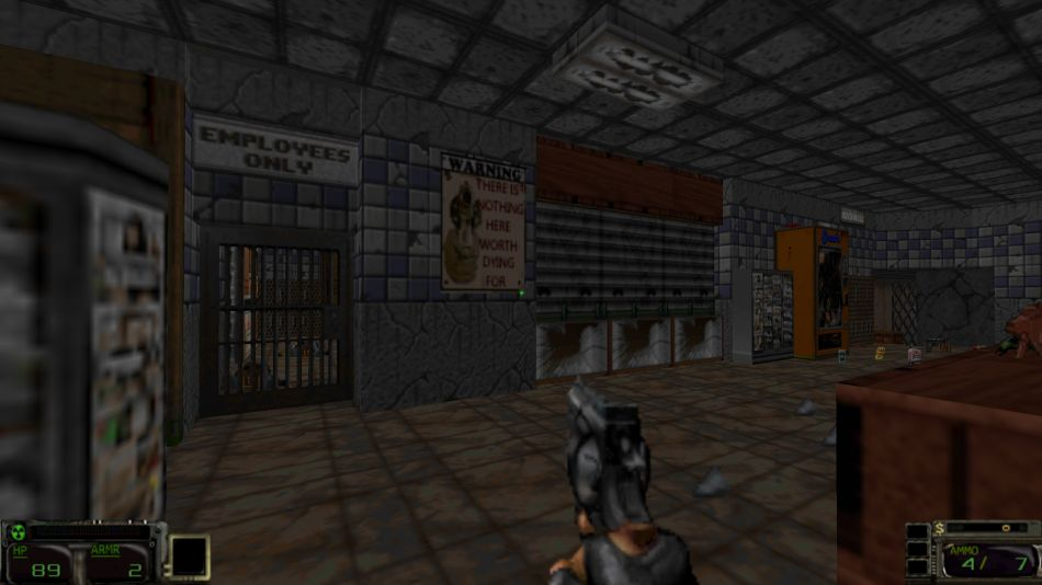 Ashes 2063, an impressive total conversion for Doom II, has