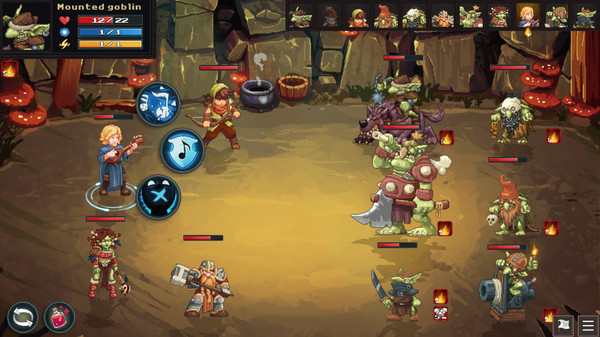 Dungeon Rushers, a 2D tactical RPG and dungeon crawler now