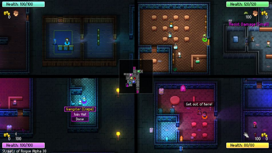 The fun open-world 2D action-RPG 'Streets of Rogue' adds 4
