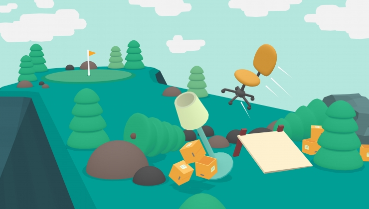 WHAT THE GOLF? parody game is now available for Linux