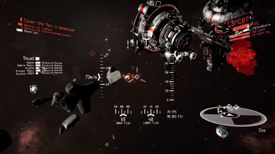 Space combat sim 'ASTROKILL' updated again, now has