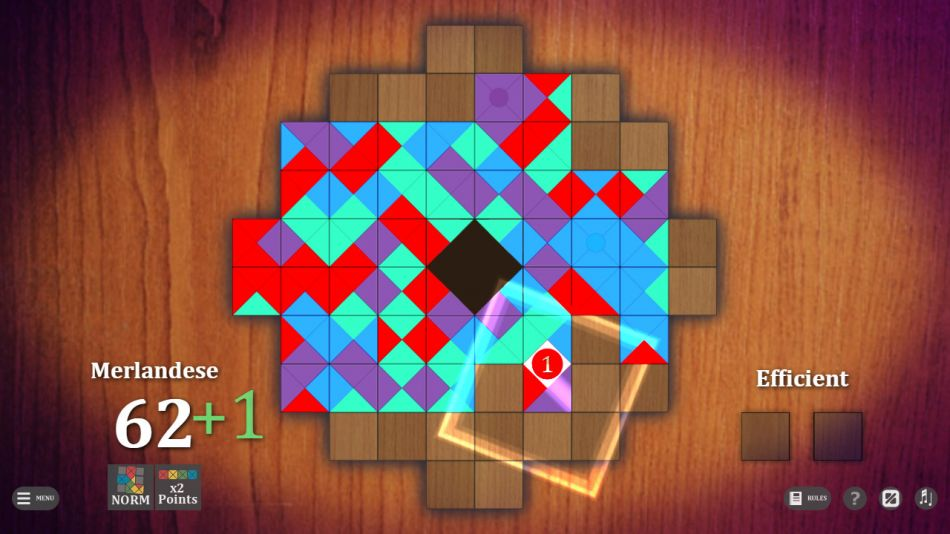 ECON - Elemental Connection, a pretty sweet puzzle game about making a mosaic