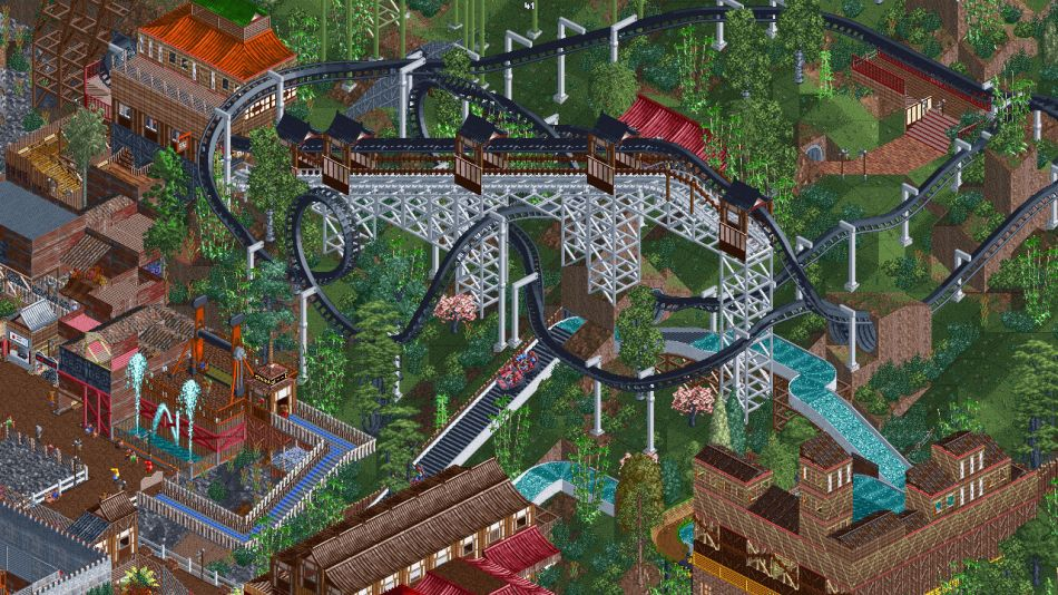 Open source re-implementation of RollerCoaster Tycoon 2