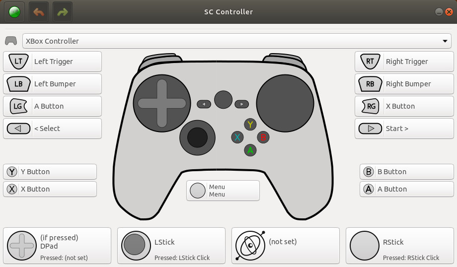 SC Controller driver and UI for the Steam Controller has a fresh