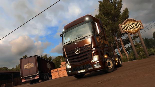 скачать euro truck simulator 2 vive la france 2016 rus бесплатно